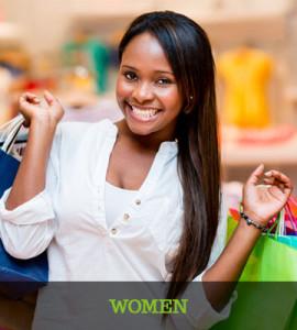 Women shopping collection
