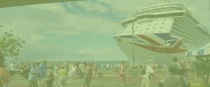 Cruise ship passangers