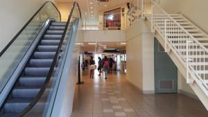 The Esplanade Mall escalator